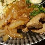 九州焼肉 てにをは - しょうが焼きの汁は少な目