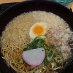 84268136 - 新大阪そば 牛肉入り(実物)