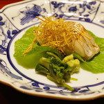 かまくら和久 - 小柴産の太刀魚の焼きもの