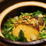 かまくら和久 - 桜鱒と菜の花の混ぜご飯