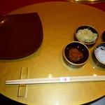 焼肉 綾小路 - テーブルセット