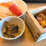 大江戸温泉物語 - 料理写真:お寿司 お刺身