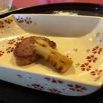 とよなか桜会 - 豚のフィレ肉と筍