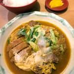 多津屋 - ダブルカレー