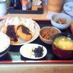 しろくま - 日替わり カレーコロッケ定食