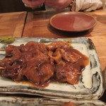84281144 - 牛筋のどろ炊き1本230円。トロトロになる位煮込んだ美味しい一品でした。