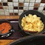 うどん小屋 柔製麺 - 天かす(*´ω`*)一味