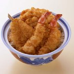 銀座 天國 - 1階 お昼天丼 1,100円(税込)