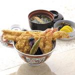 銀座 天國 - 1階 天國特製 かき揚丼 3,240円(税込)