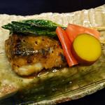 東家 - 黒ムツの味噌幽庵焼き
