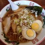 じゃん腹 - 『浅草あっさりラ-メン』と『煮たまご』
