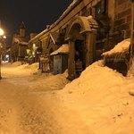 小樽倉庫No.1 - 雪の小樽は初めて!ちょっと嬉しかった。