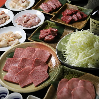 【店長おすすめ】『和牛カルビ』が入ったプチ贅沢なコース