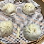鼎泰豐 - 豚、ホタテ、蟹味噌