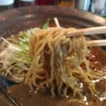 香氣 四川麺条  - 黒胡麻担担麺(ちぢれ麺)