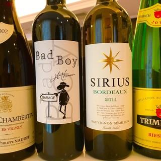 厳選ボトルワイン各種