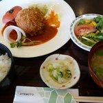 あ・ら・伊達なレストラン - 081018まんまるトマトコロッケ定食