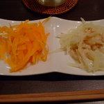 ヒデズ キャフェ - ニンジンとジャガイモ