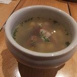 ペリーズバー - 本日のスープ。ひよこ豆ほかたっぷり