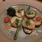 ペリーズバー - 本日の魚料理 ホタテのグリル