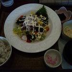 カフェ百菜 - ビタミンサラダランチ¥850