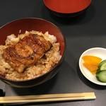 きゃんでぃ - ミニ、鰻丼