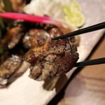 地鶏専門店 三岳 - 地鶏の炭炙り焼き