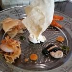 84309321 - サリールランチの前菜。