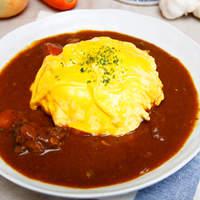 ボラーレ - 「オムカレー 1000円」オムライスもカレーも両方食べたいあなたにピッタリ!の人気のオムカレーです☆