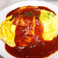 ボラーレ - 「黒豚ベーコンのオムライス 1000円」ケチャップライスかバターライスをお選びできます!