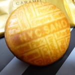 ニューヨークシティサンド - クッキーの表面には印字がされています