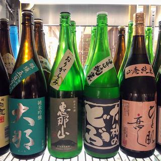 日本酒いろいろ全品380円♪