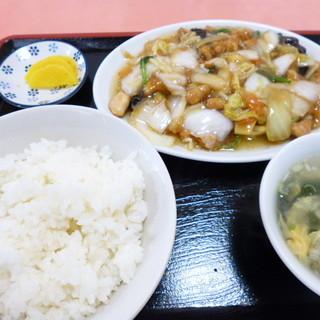 王様 - 料理写真:私は日替わり定食