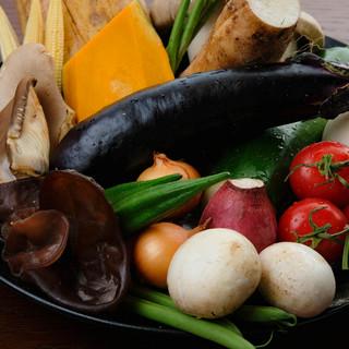 日本各地より厳選した季節の野菜