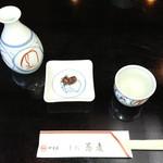 やす武 - 通し 蕎麦味噌