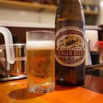 手打ち麺やきそば専門 真打みかさ - ビール