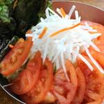 七輪 - サラダ