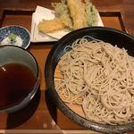 Soba & BAR An - 海老天ざる蕎麦