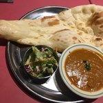 インドレストラン ガンジス - チキンカレー(*´ω`*)セット