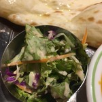 インドレストラン ガンジス - サラダ(´∀`)