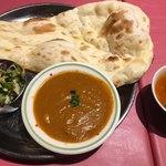 インドレストラン ガンジス - チキンカレー(*´ω`*)セット トマトスープ