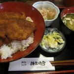 佐佳枝亭 - カツ丼