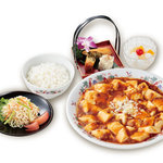 彩園 - 麻婆豆腐セット