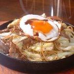 アンジュ - 料理写真:鉄板豚ソース