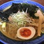石井食堂 - 限定・白醤油ラーメン