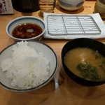 まきの 天神橋四丁目店 - ご飯と味噌汁と天つゆ