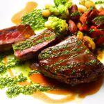 マジックレストラン&バーGIOIA 銀座 - 牛サーロインのビステッカ