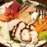 maguroyakitorisuda - 刺身盛り合わせ