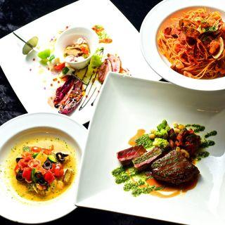 【コース料理】デートや記念日に最適です☆【選べるパスタ】