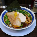 丸直 - 魚介醤油(730円)